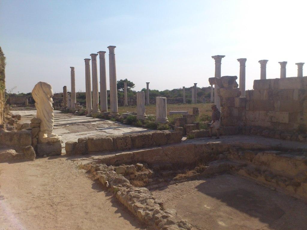 Salamis Harabeleri / Mağusa