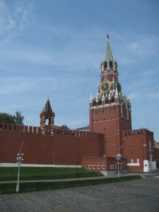 Kremlin sarayının kulesi