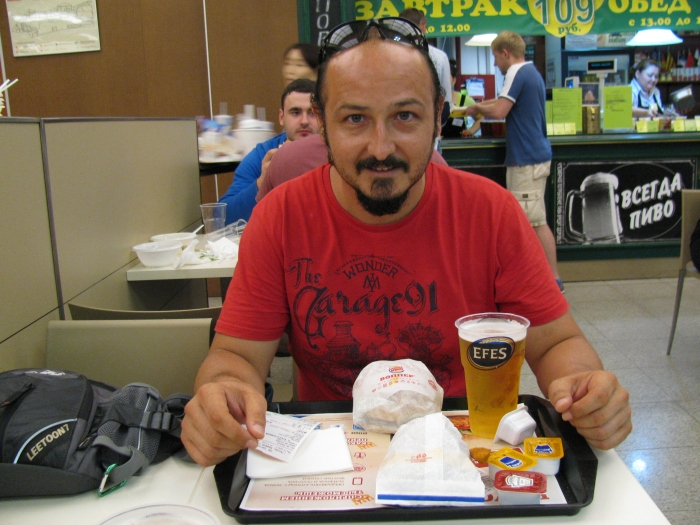 Burger King'de wopper menü ( montaj yok o efes gerçek)