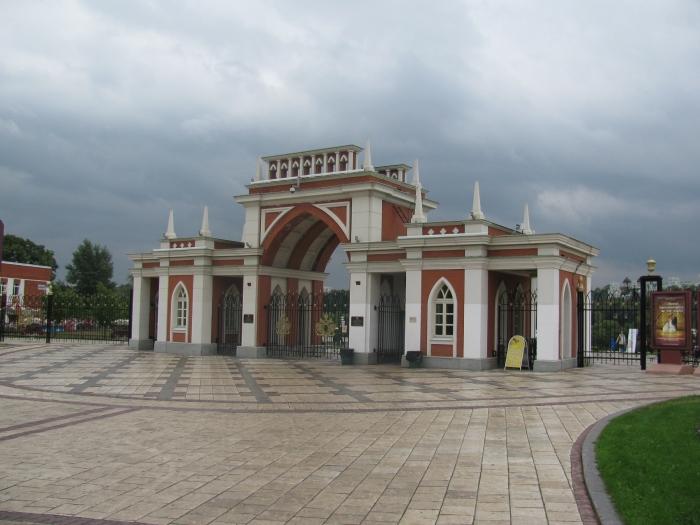 Tsaritsino parkı girişi