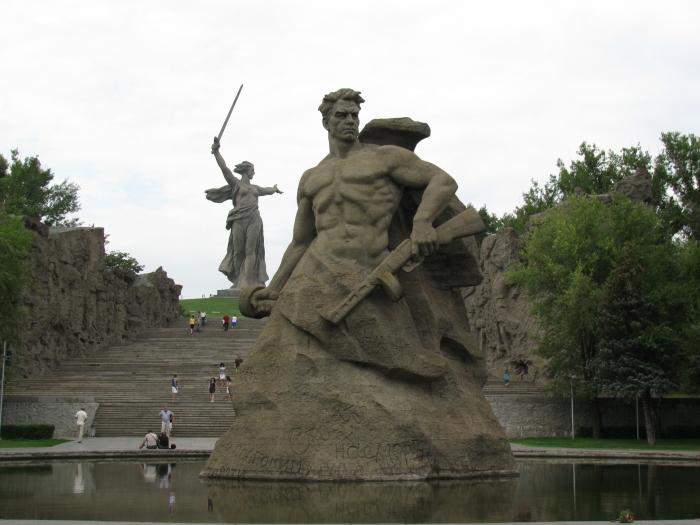 Mamayev tepesi heykelleri ( Her ülkenin askeri kendine kahraman)