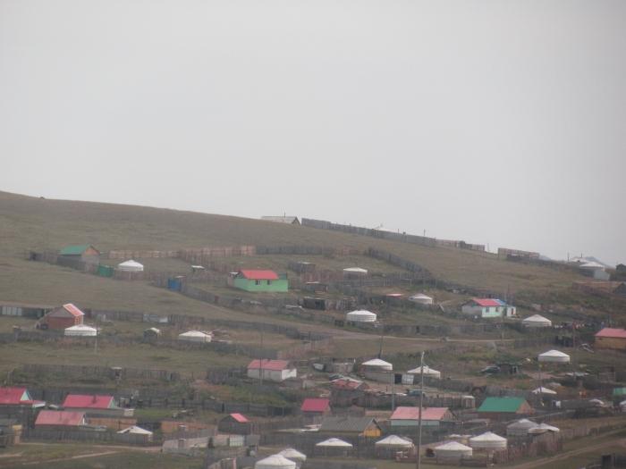 Moğolistan köyü