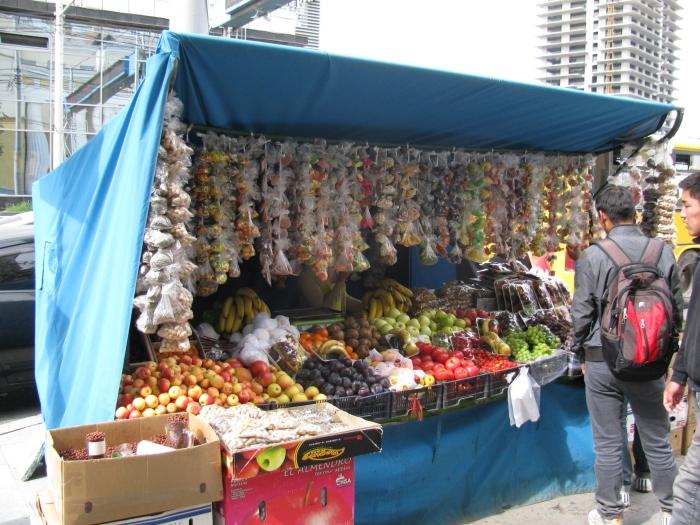 Meyva tezgahı