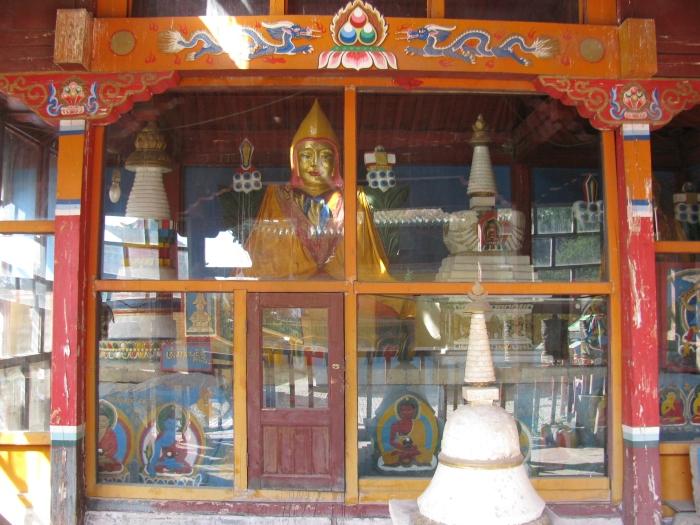 Küçük bir tapınak daha