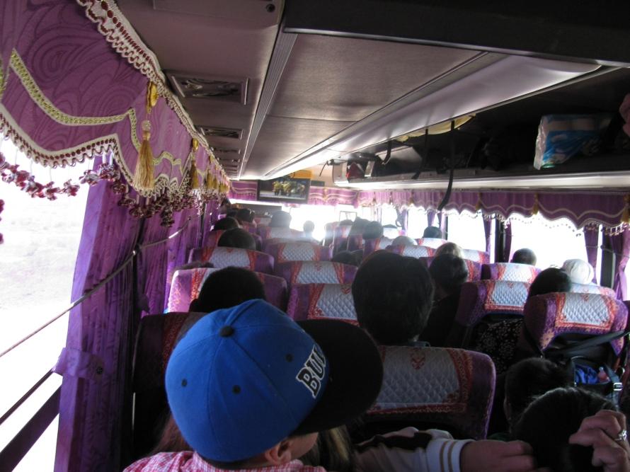 Otobüsün içi