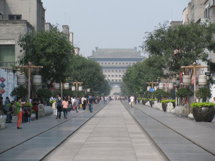 Qianmen caddesi