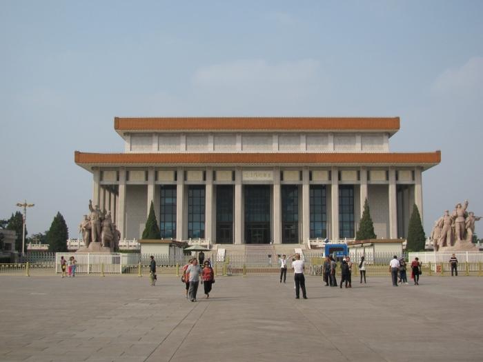 Mao'nun mumyasının sergilendiği yer