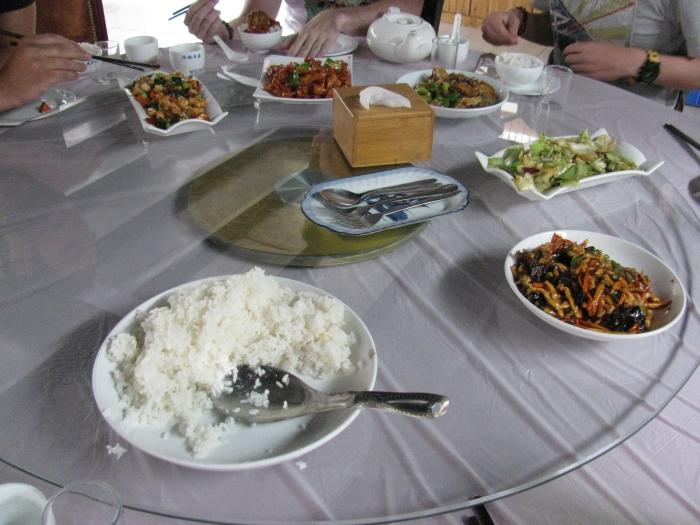 Çin usulü yemek