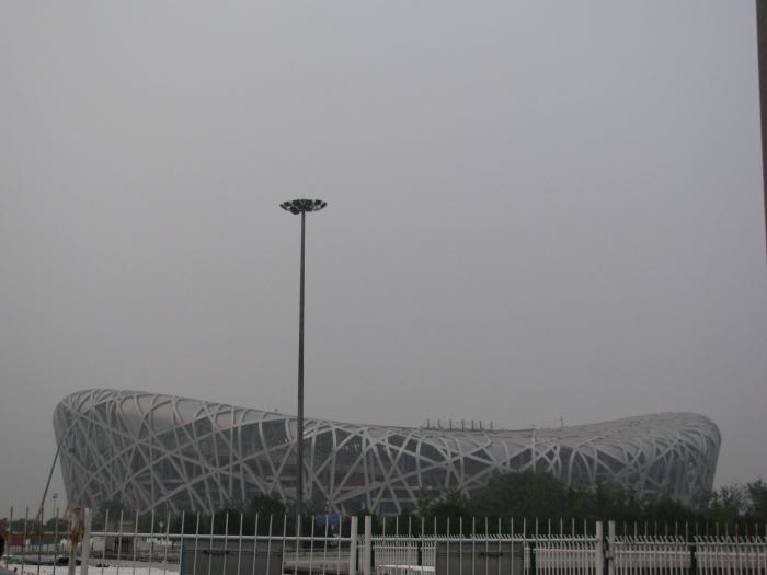 Kuş yuvası - Pekin ulusal stadyumu