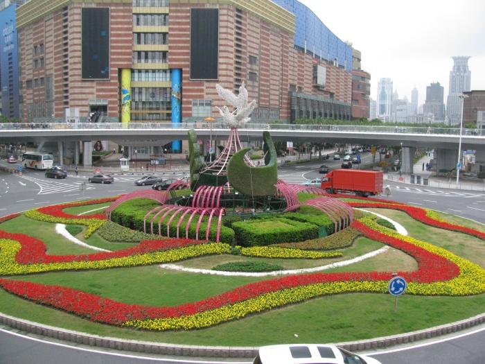 Gökdelenletin olduğu taraf ( Pudong bölgesi)