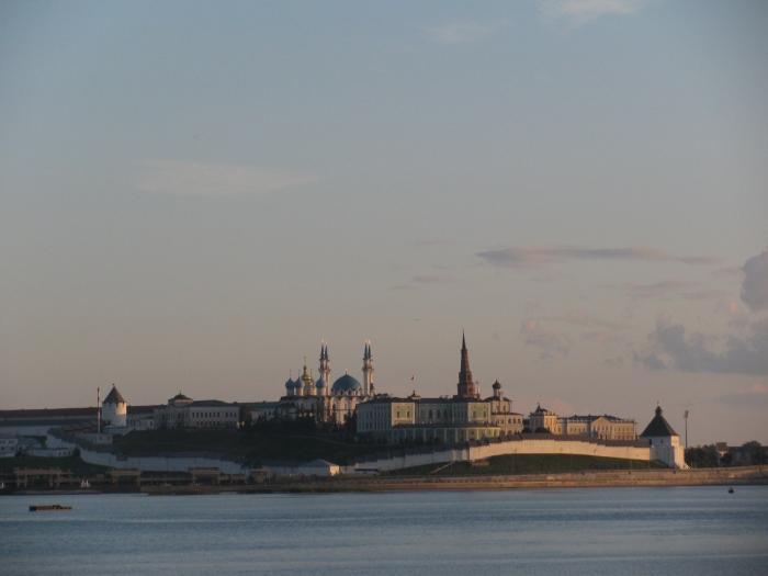 Kazan Kremlin ve Kul şerif camii