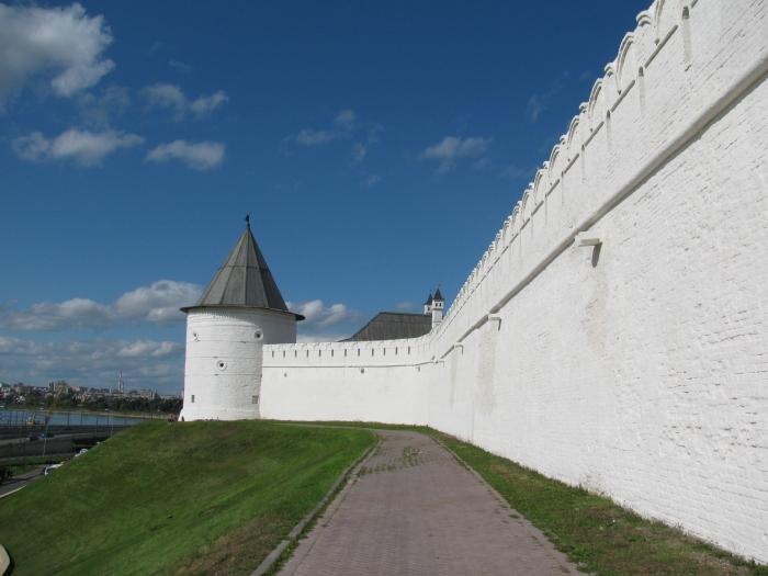 Kazan Kremlin duvarı