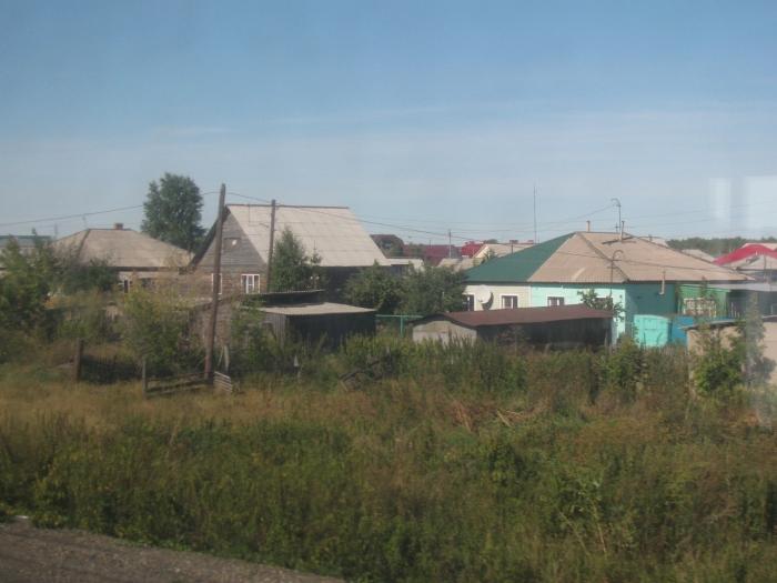 Sibirya'da bir köy