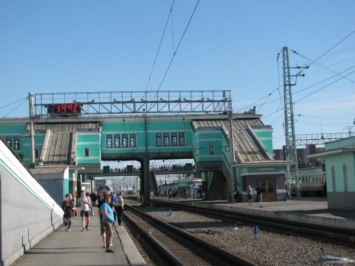 Novosbirisky tren istasyonu