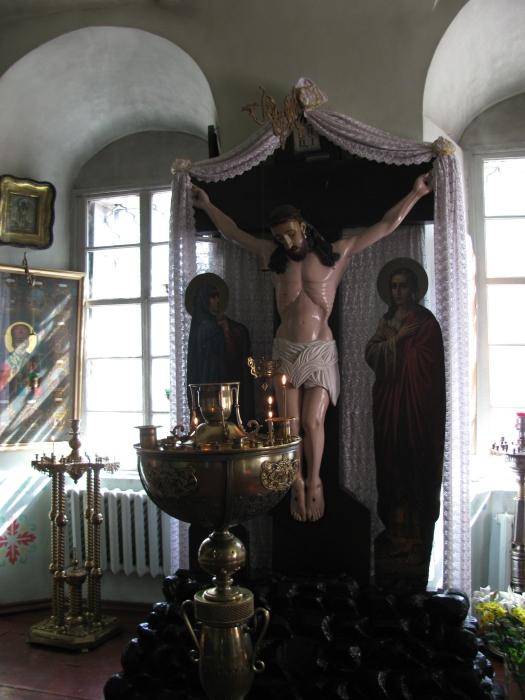 Üstteki kilisenin içi