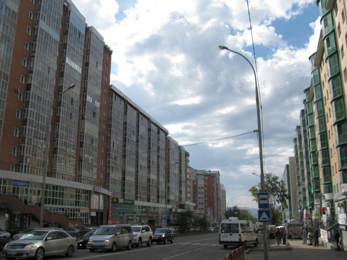 Şehrin büyük binaları