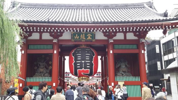 Sensoji tapınağı girişi