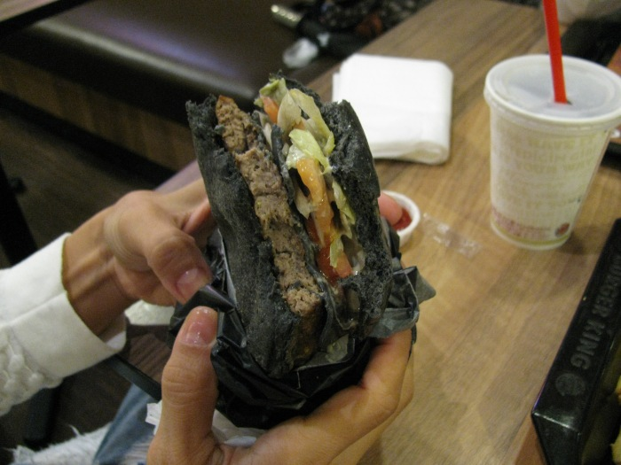 Siyah hamburger