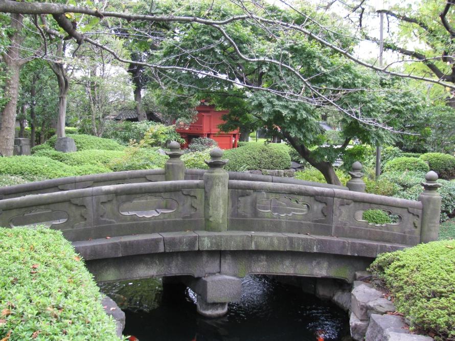 Tapınağın bahçesi
