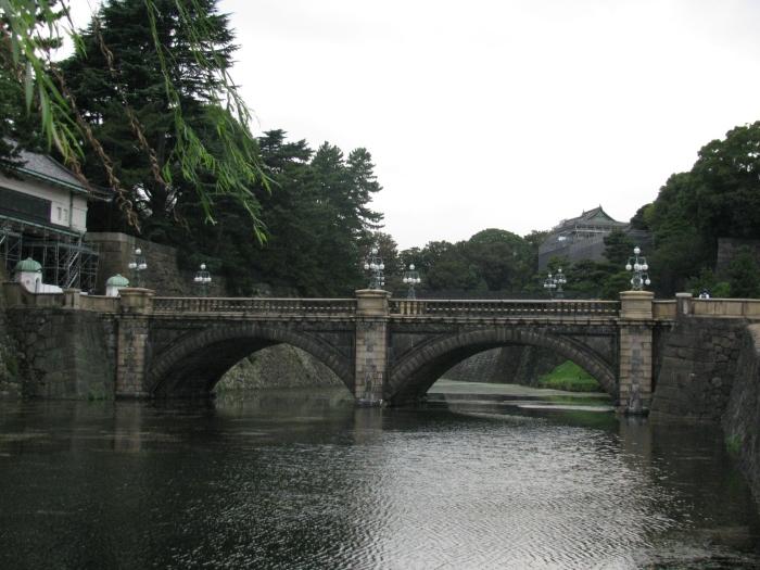 Saray girişindeki köprü