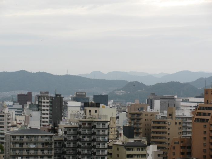 Parktan Hiroşima manzarası