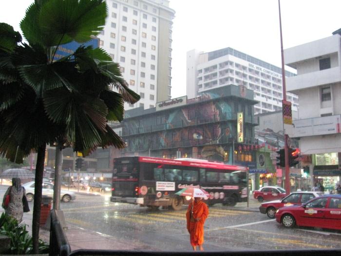 Ve yağmur başlar