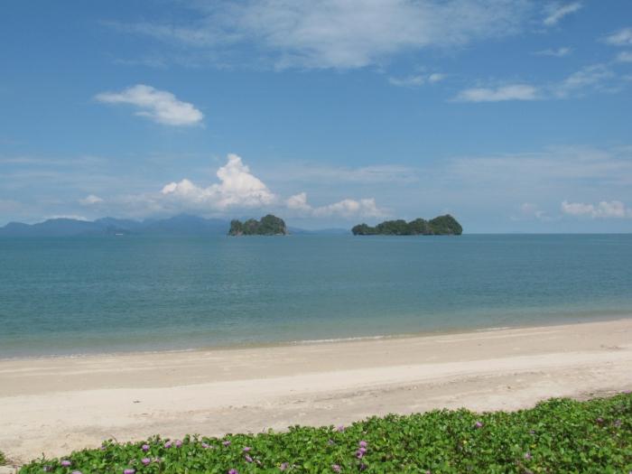 Tanjung Rhu plajı