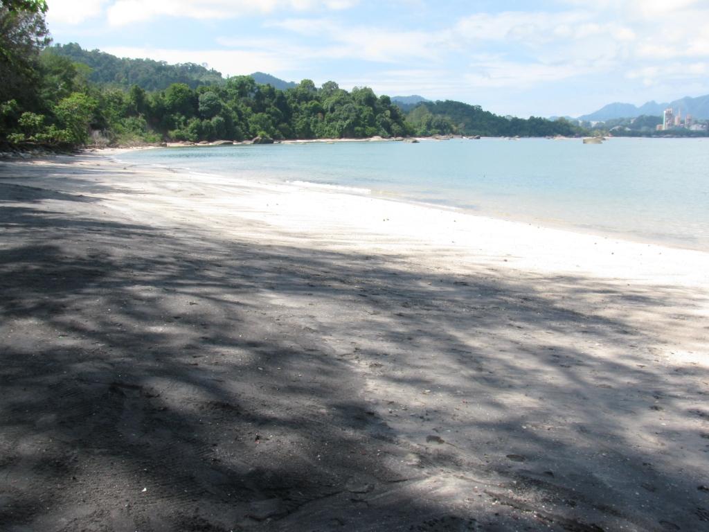 Black sand plajı