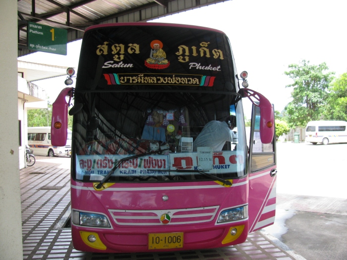 Bu da otobüsümüz