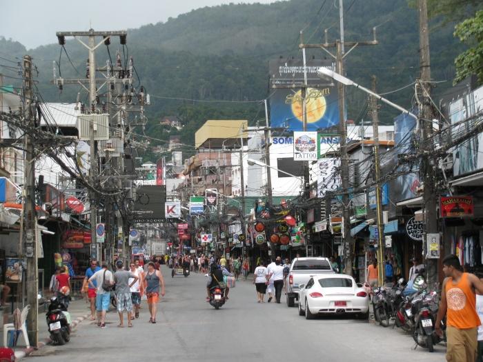 Bangla caddesi en kalabalık caddesi