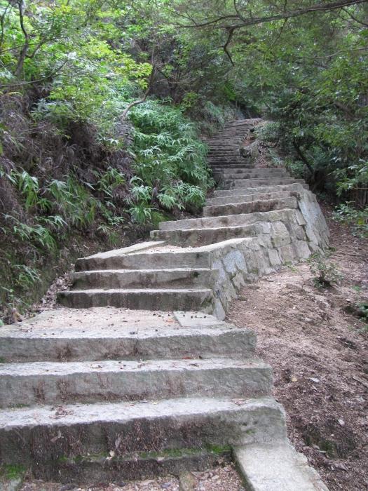Misen dağı yolu