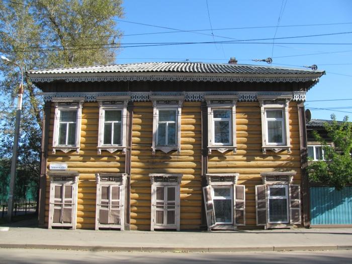 Eski İrkutsk evi