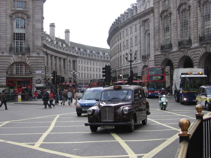 Meşhur siyah taksileri