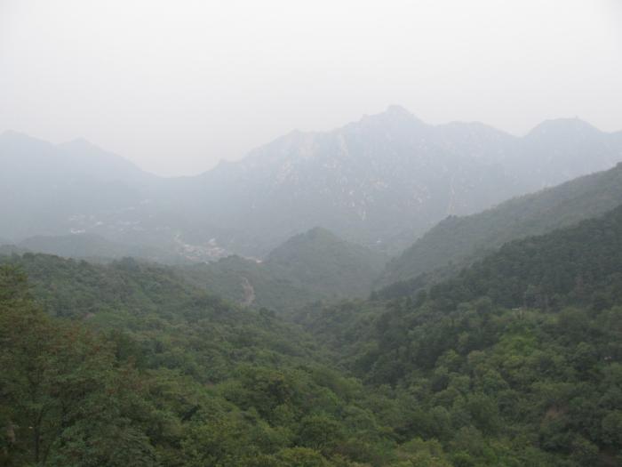 Çin Seddinden bir manzara