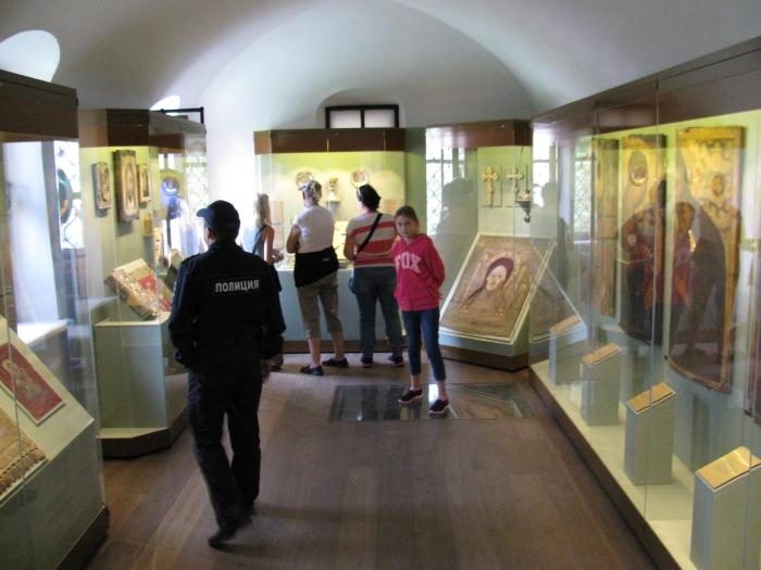 Müze kısmı