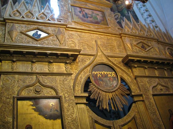 St. Basil's Katedrali içi