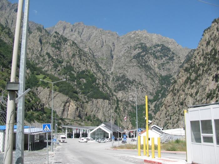 Gürcistan - Rusya sınır kapısı