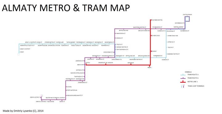 almaty-tram-map