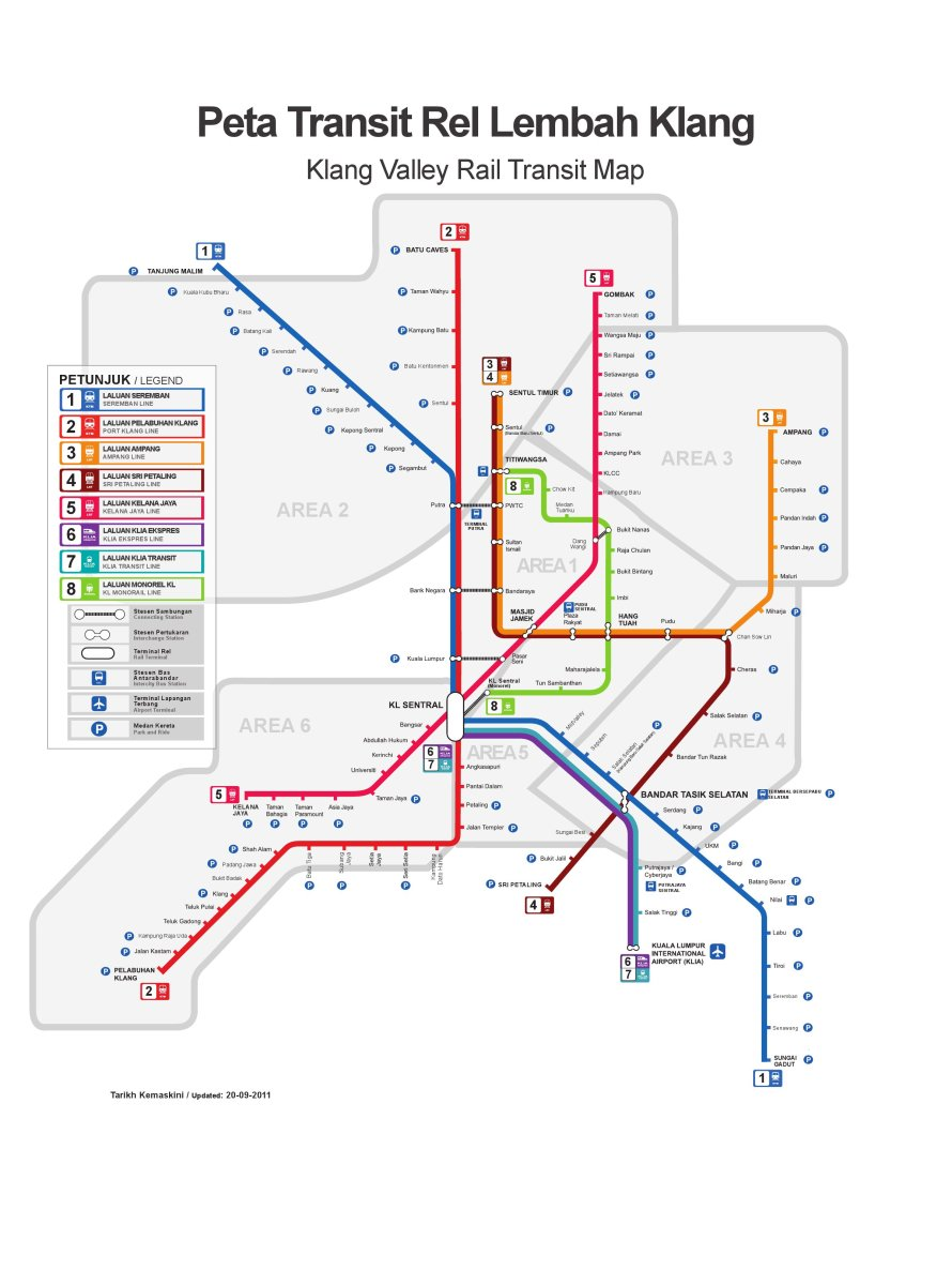 Klang Valley Integrated Rail System