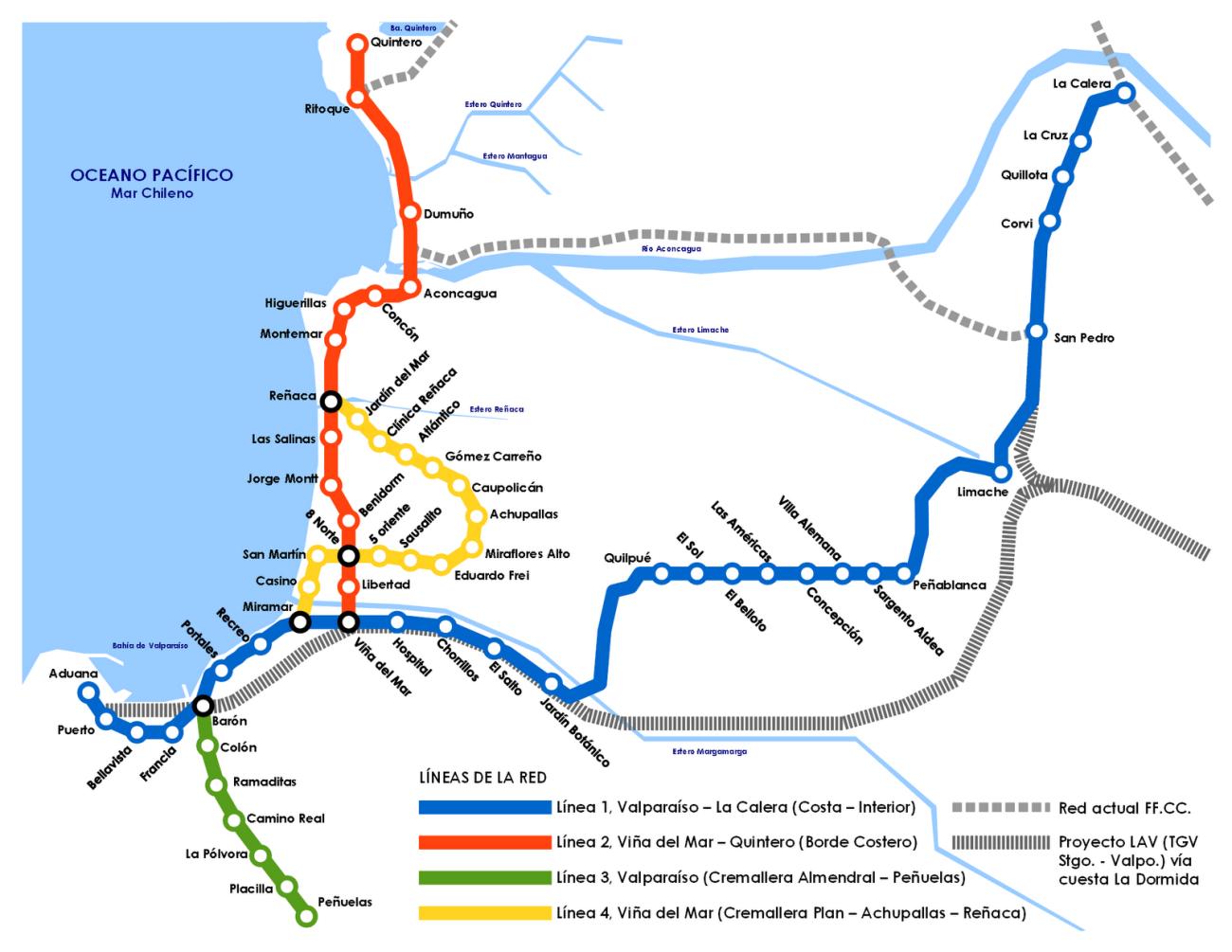Propuesta Metro Valparaíso 2048_1_4 líneas_FFCC TGVladormida