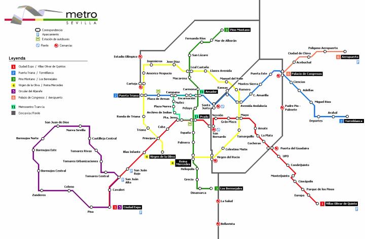 Seville-future-metro-map