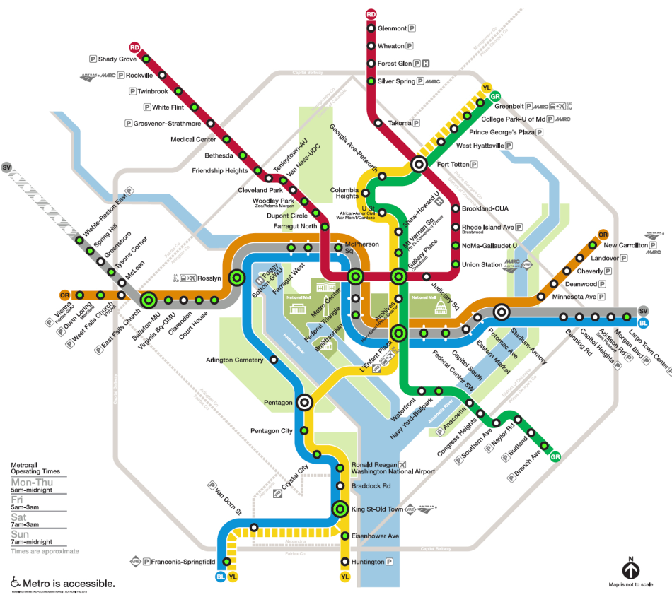 washington-dc-metro-station-with-hotels-close-by