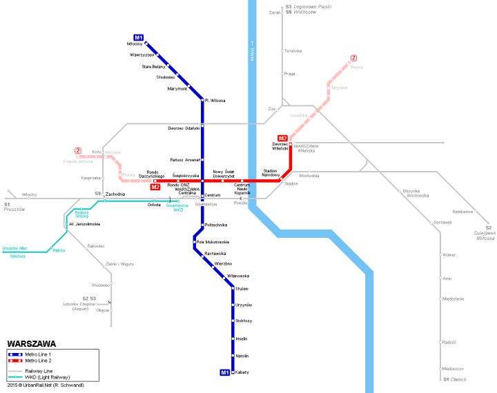 warsaw-metro-map