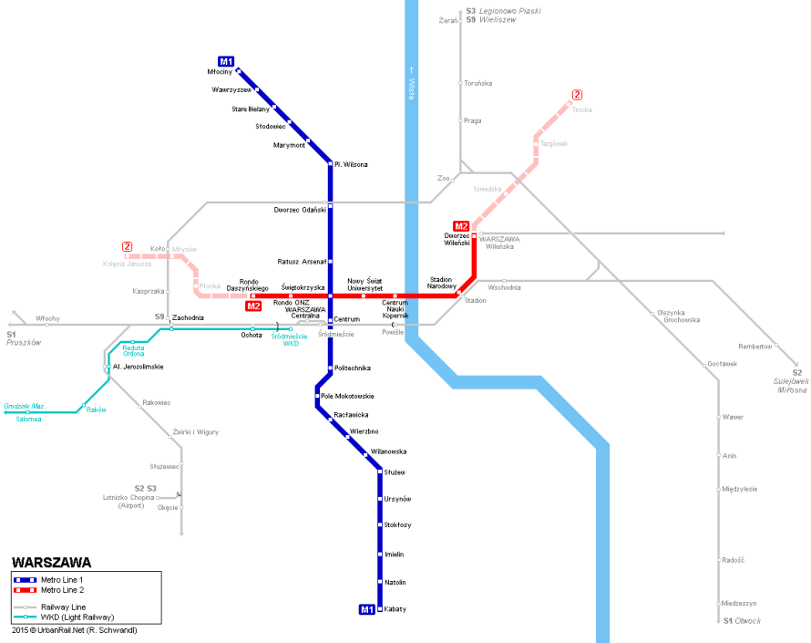 warsaw-metro-map