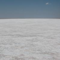Beyazın büyüsü; Tuz Gölü
